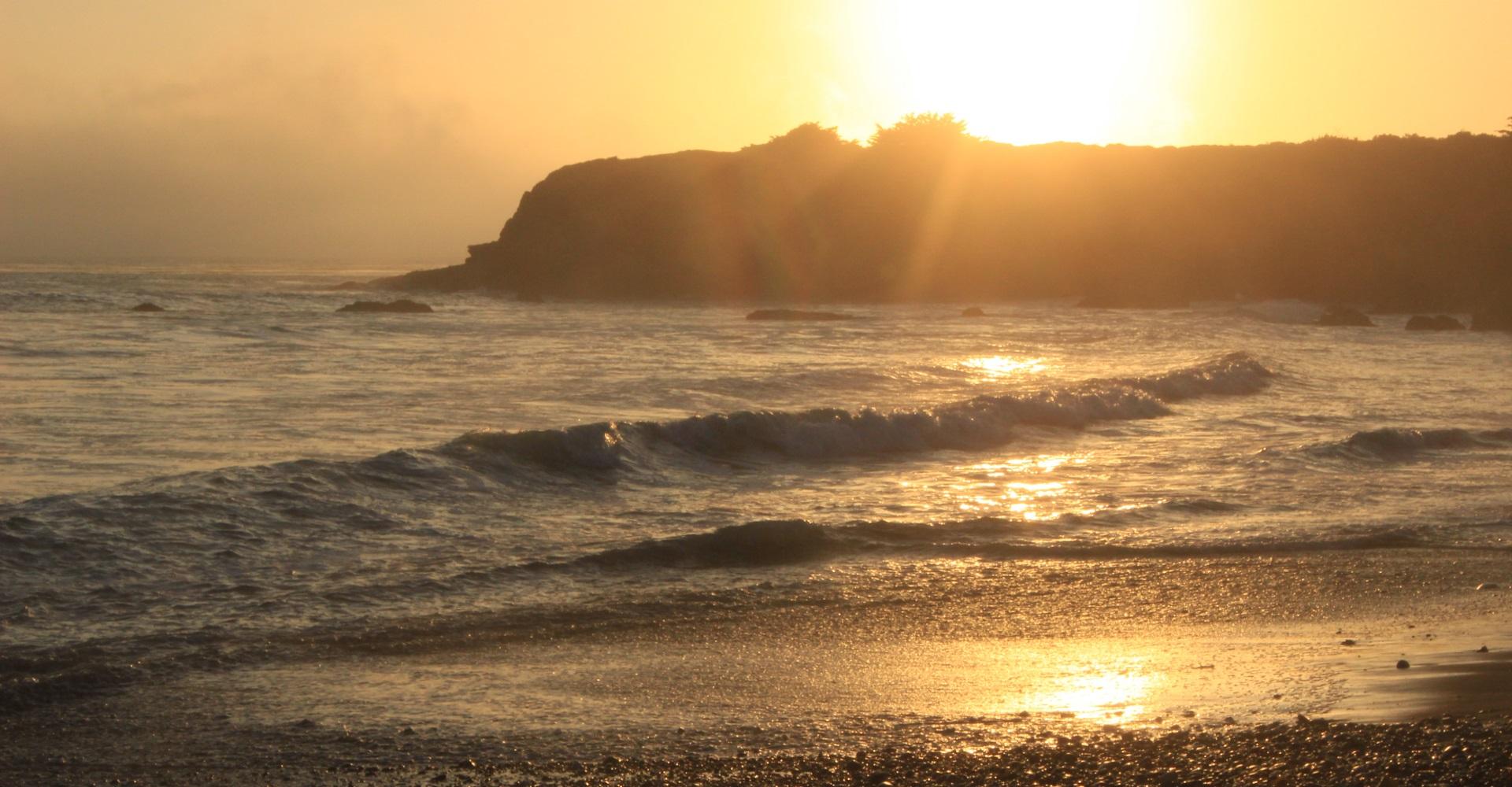Sun Down Pacific Cost USA